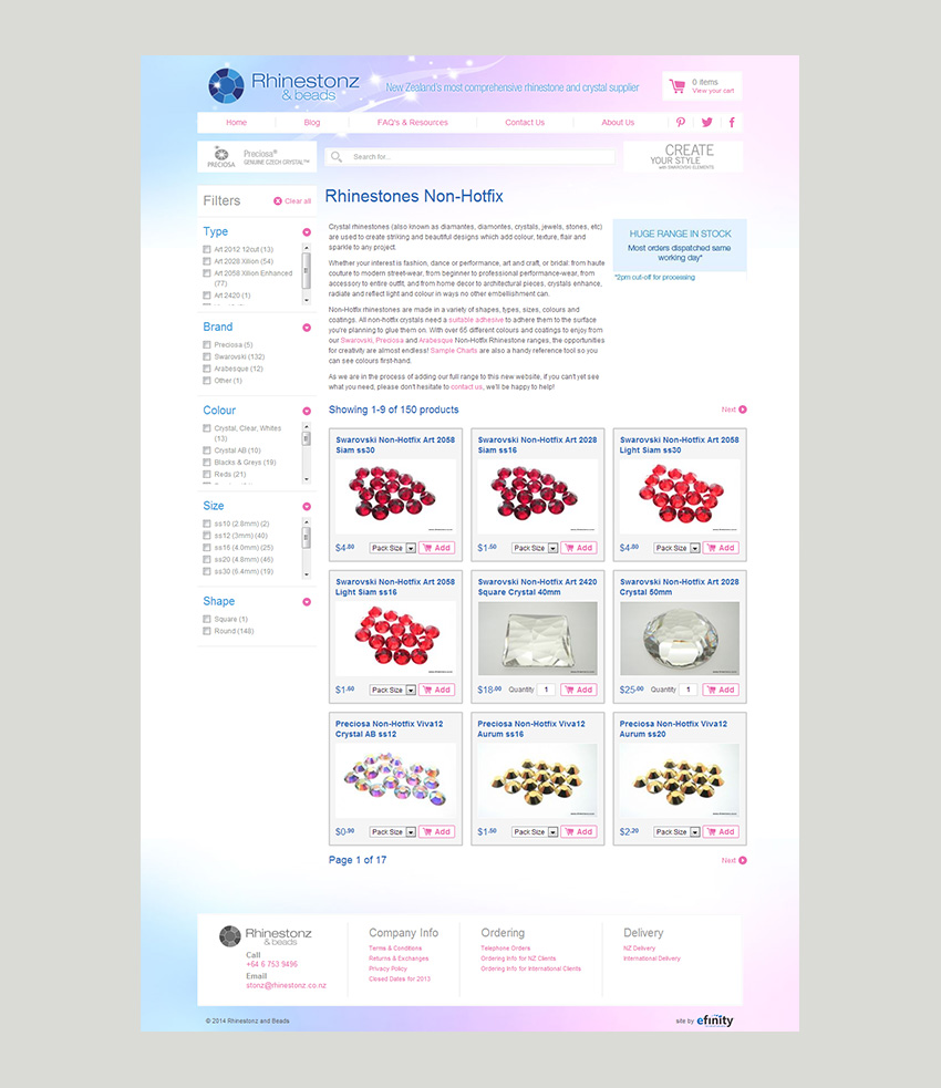 Rhinestonz Screen Shot