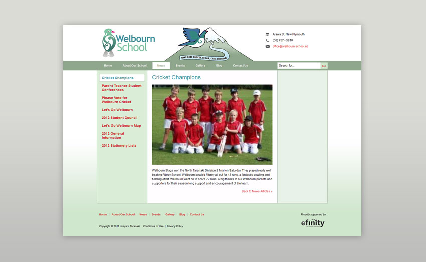 Welbourn School Screen Shot